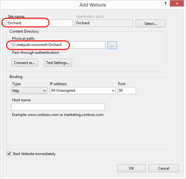 Manually installing Orchard zip file - Orchard Documentation
